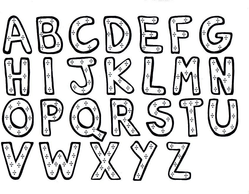 Alphabet coloring pages free home klidzx5c4 printable incredible image