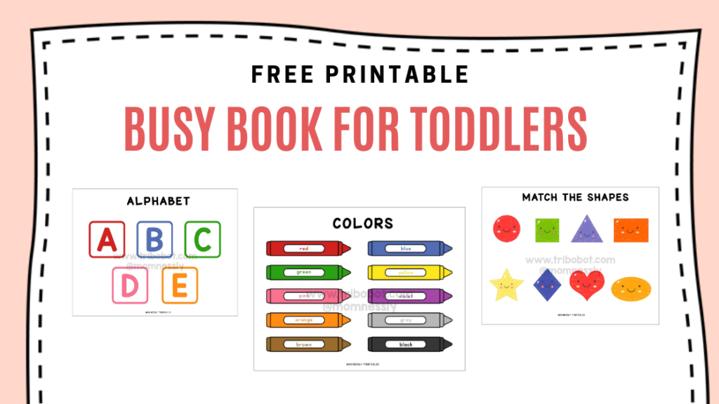 Busy book for toddlers httpstribobot com 20200518 215506 0000 printables free at daycare to color all
