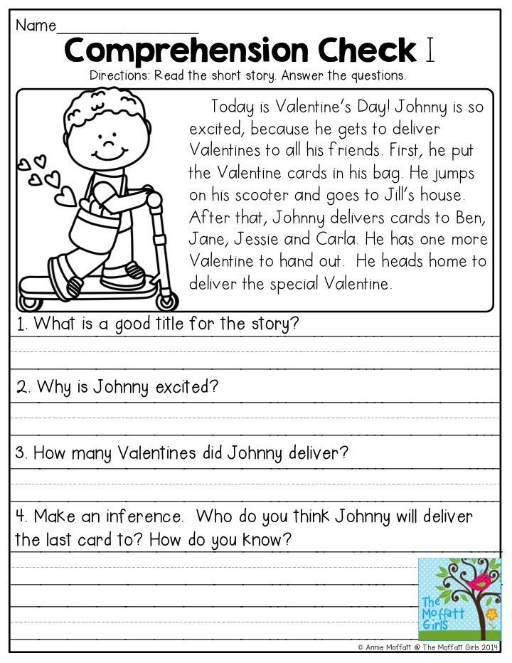 Comprehension check read the short story and answer questions these reade280a6 reading worksheets 2nd grade fluency passages