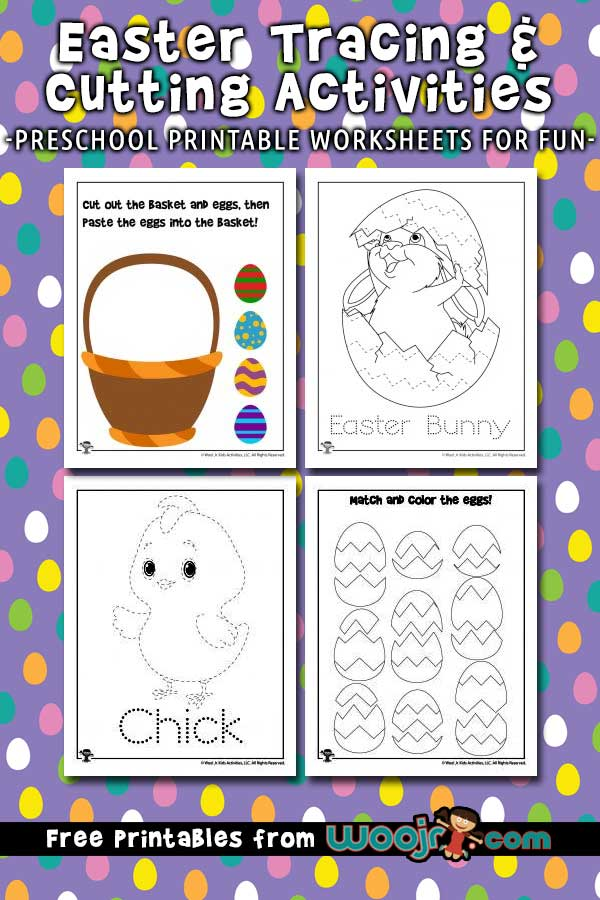 Easter preschool worksheets tracinges for kids excelent picture inspirations and printable woo jr