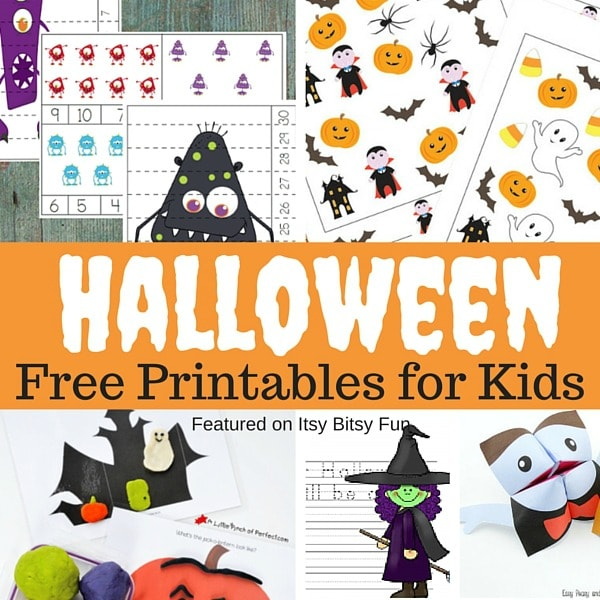 Fabulousalloween worksheets for kids photo ideas printable and more free itsybitsyfun com fun
