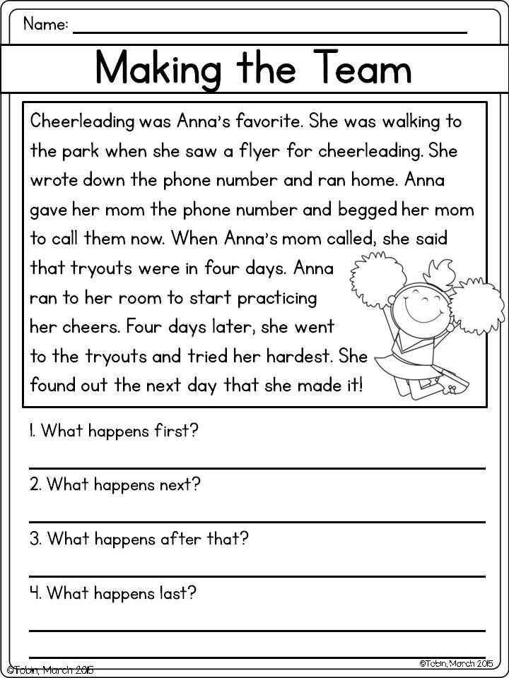 First grade retelling worksheets photo inspirations printable free story math