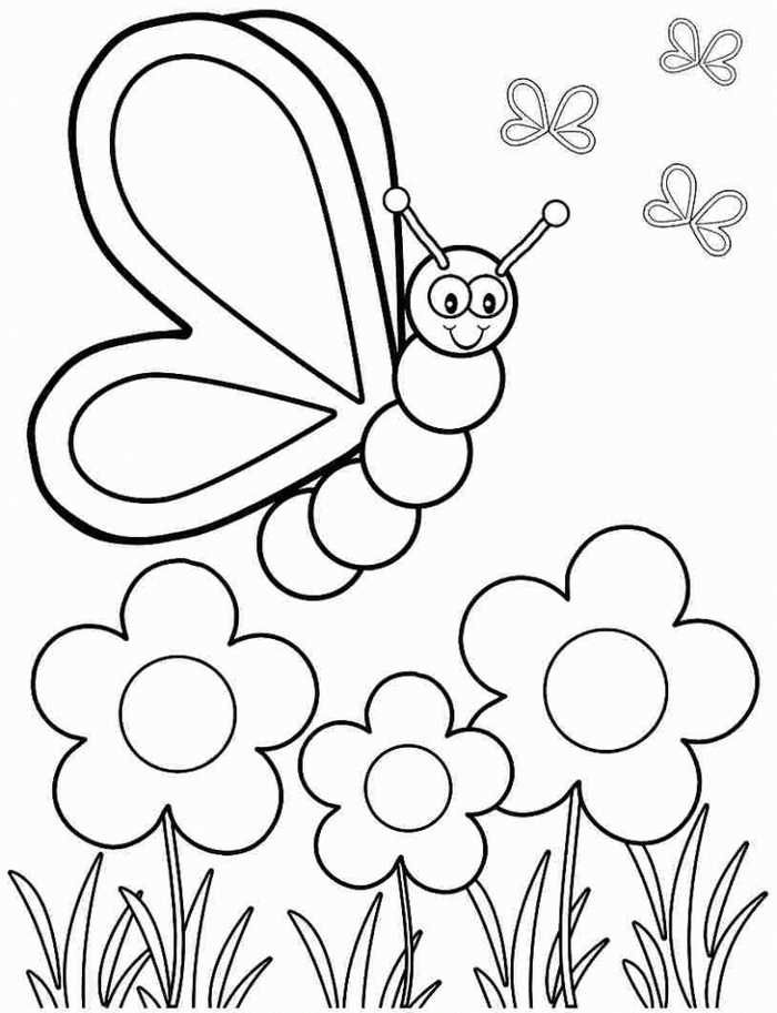 Free coloring pages for toddlers amazing pin on colorier and preschoolers to play simple animals