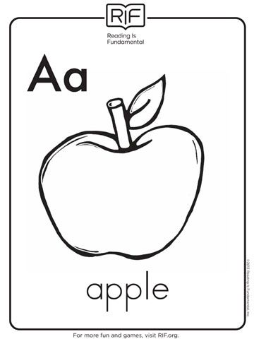 Free preschoolles alphabet for toddlers beach to color