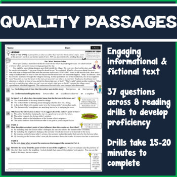 Free worksheets for 6th grade analyzing informational text printable 5th