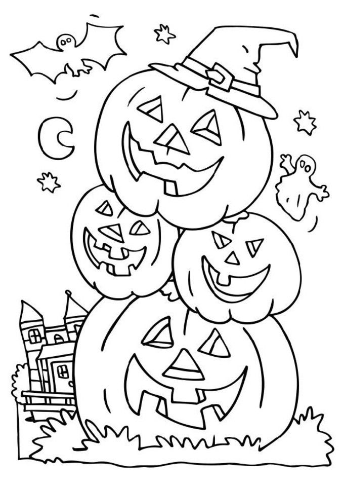 Freelloween coloring printables for toddlers to print fall printable pages and activities cards