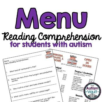 Functional reading comprehension worksheets middle school pdf exercises