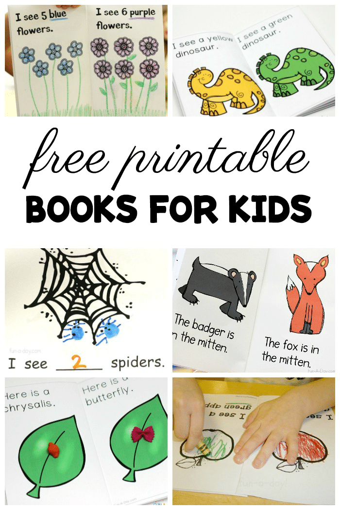 Grab these freee books for preschool and kindergarten level pdf