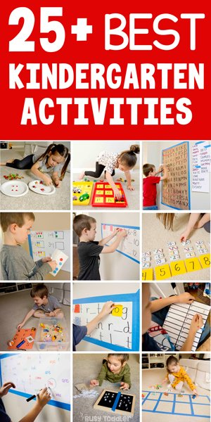 Kindergarten activities hands on playful busy toddler staggering learning picture ideas