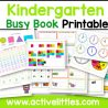 Kindergarten Worksheets Pdf Active Littles Busy Book Is Are