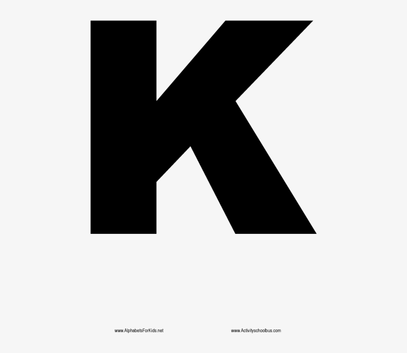 Largeable size bubble letters alphabet black letter k transparent png 500x717 free download on nicepng color pictures for the insult starting with