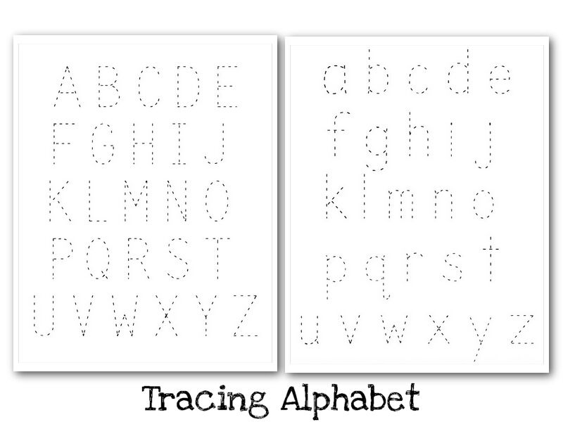 Marvelous printableabet letters to trace picture inspirations tracing printables for free