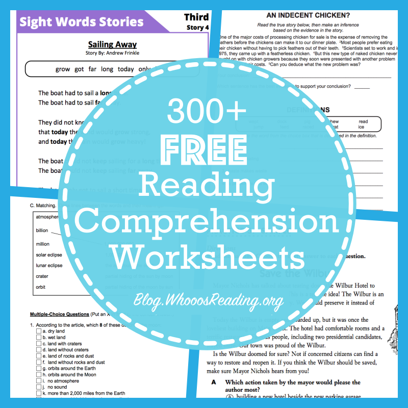Outstanding high school readingsion passages with multiple choice questions websites for free worksheets