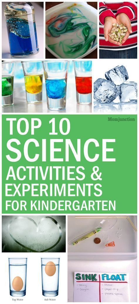 Outstanding kindergartenience projects photo inspirations top experiments for and kids