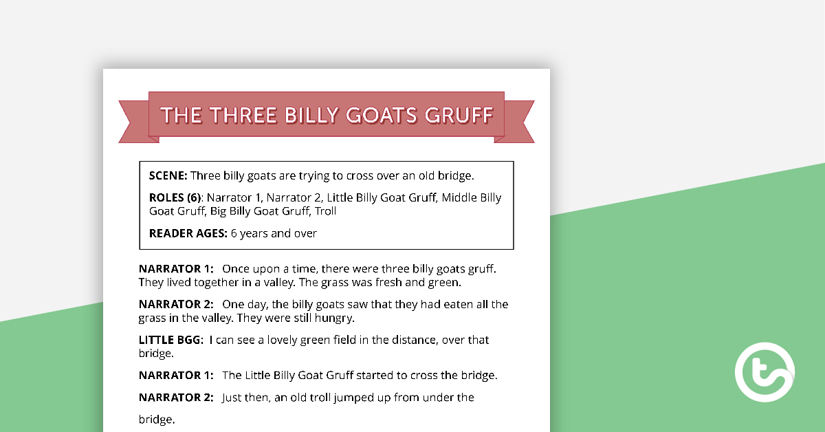 Preview landscape threeilly goats gruff comprehension worksheets splendi image inspirations story