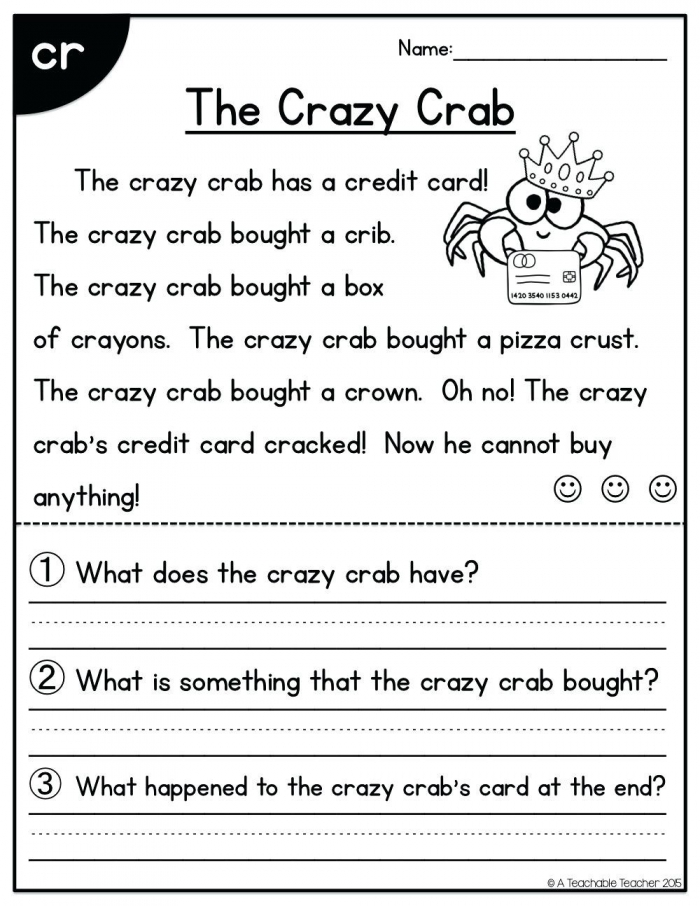 Reading comprehension storiessheets day second grade reading comprehension passages picture 5 incredible second grade picture ideas