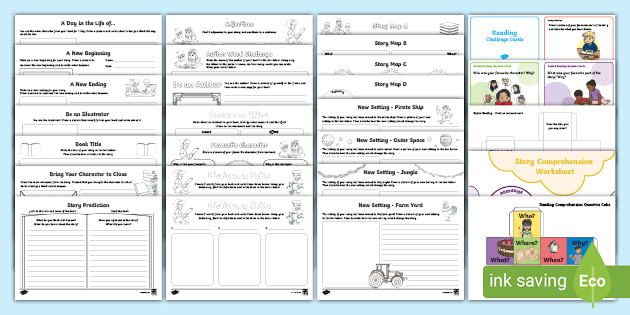 Reading comprehension worksheets pdf primary resources 2nd grade exercises free preschool k5