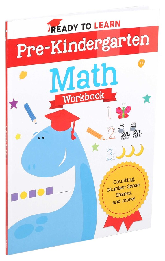 Ready to learn pre kindergarten math workbook book by editors of silver dolphin books official publisher page simon schuster