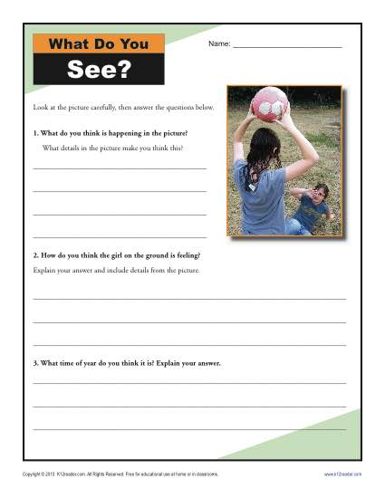 Remarkable analyzing informational text worksheets image inspirations what do you see inference for 4th and 5th