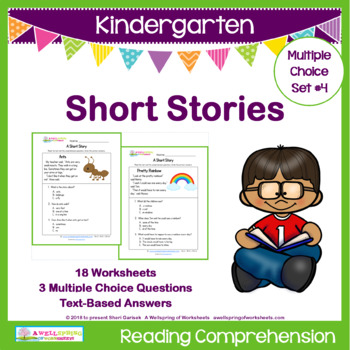 Short story reading comprehension original stunning picture ideas kindergarten stories by wellspring of worksheets