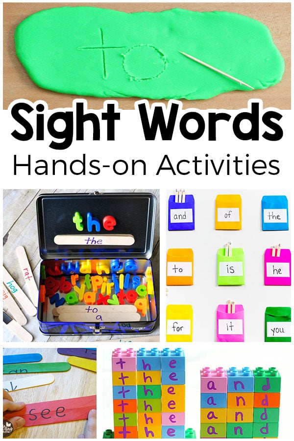 Sightd activities that your kids will love dolch for kindergarten free games and
