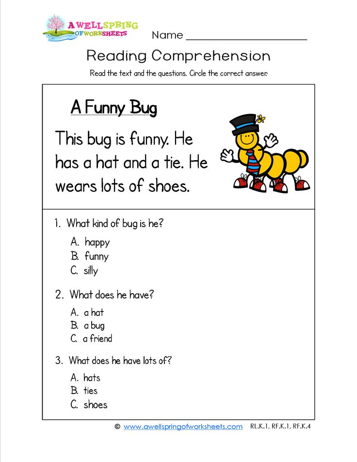 Simple comprehension questions for grade passages with and answers in logic