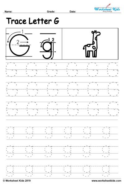 Staggering g worksheets for preschool image inspirations alphabet letter writing practice sheet 001 tracing free printable