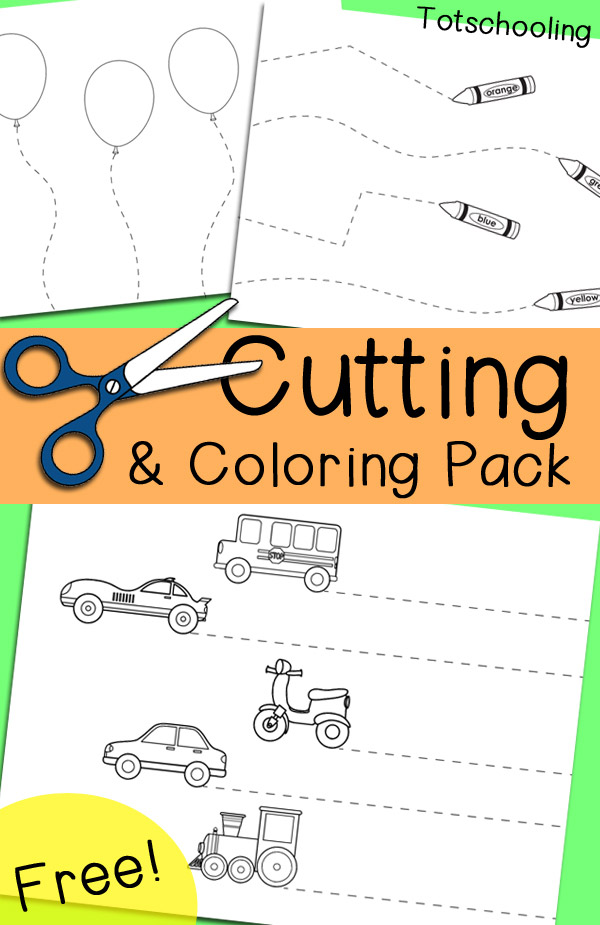 Stunning cutting worksheets for kids picture inspirations number toddlers super mario freeing