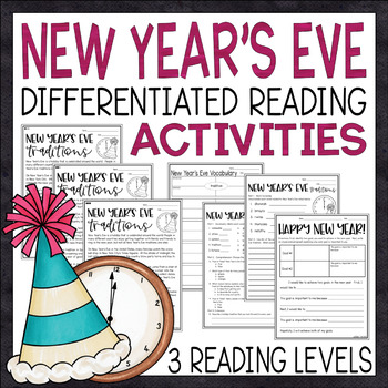 Stunning new year reading comprehensionorksheets picture ideas original years passages and activities informational text