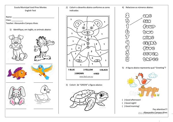 Stunning second grade eal worksheets picture ideas tests for first and english esl distance learning physical