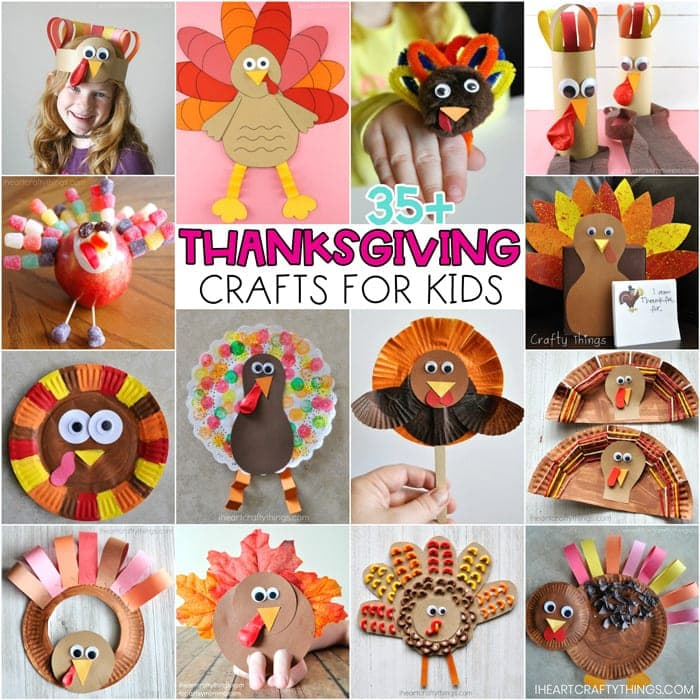 Thanksgiving crafts for kids i heart crafty things kindergarten students printable at