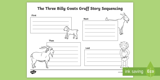 Three billy goats gruff lesson comprehension worksheets pdf 7th grade activities