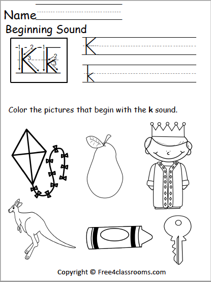 Tremendous k phonicss picture ideas free letter free4classrooms beginning sounds