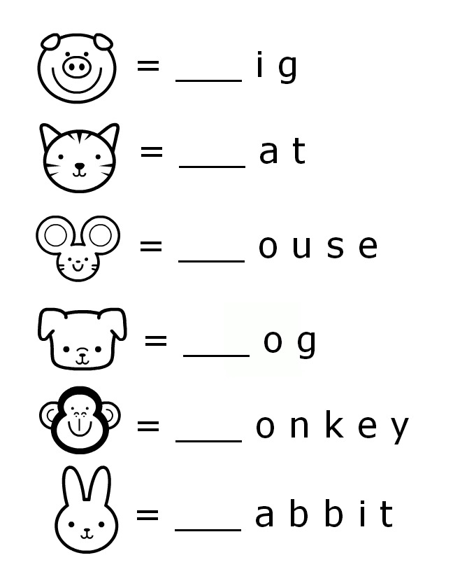 Work pages for kindergarten to print at home writing