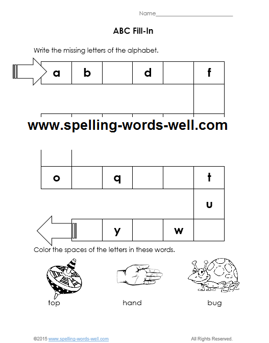 Worksheets for kindergarten amazing picture inspirations free printable with the abcs