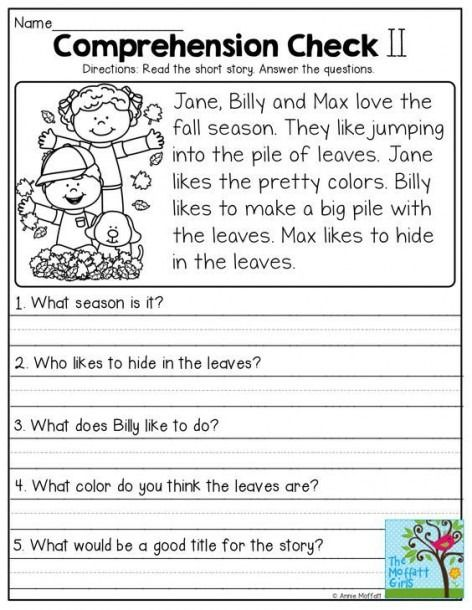 Writingces for grade free simple reading activity worksheets